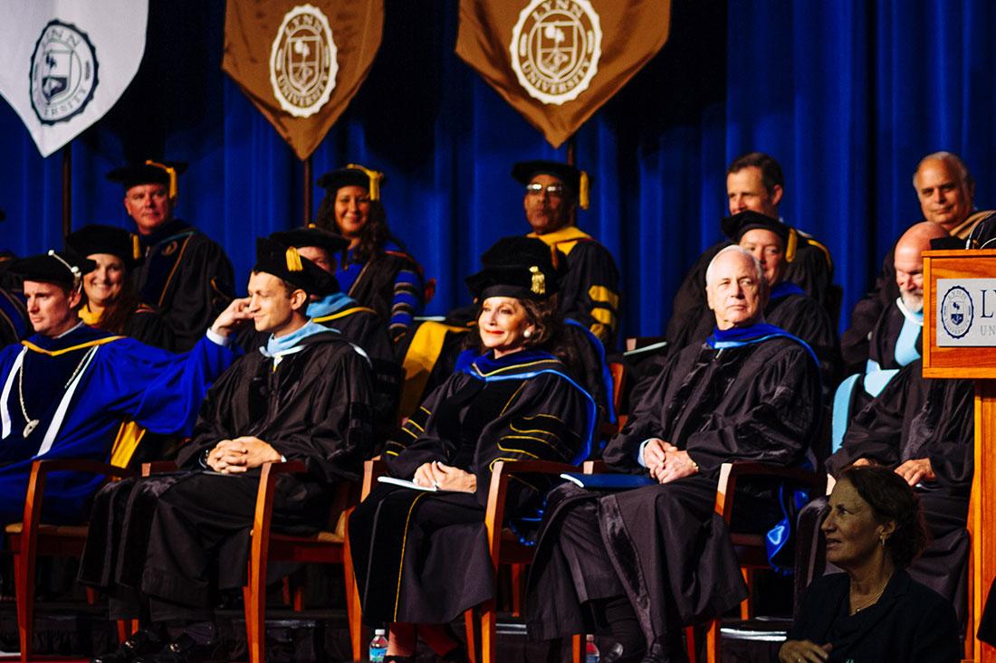 MBA students graduation